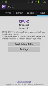 Android CPUZ6987