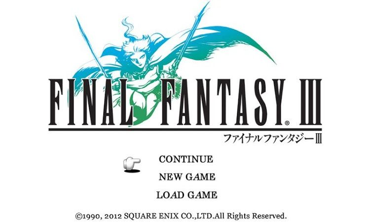 FINAL FANTASY III v1.2.2 + data