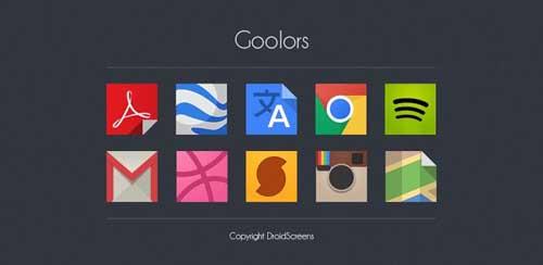 Goolors icons GO/Apex/Nova/ADW v2.4.6