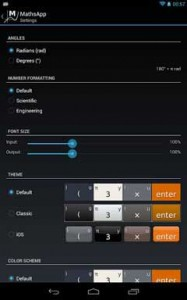 MathsApp Scientific Calculator78