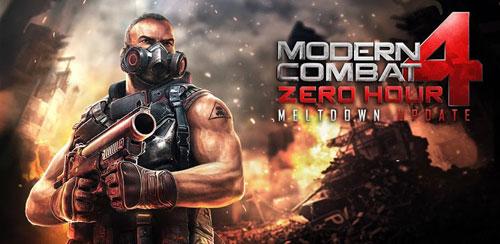 Modern Combat 4: Zero Hour Meltdown Update v1.1.0