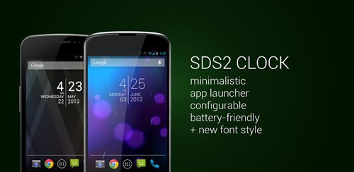 SDS2 Clock Widget v3.3