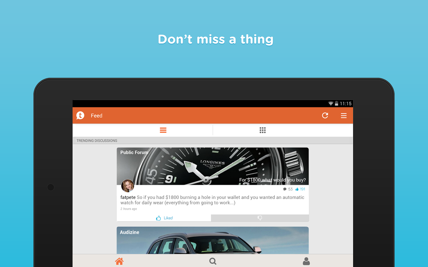 Tapatalk – Forums & Interests Black & White Edition v5.8.0