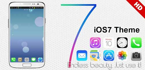 iOS 7 iPhone Theme Go Launcher v1.3