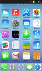iOS7 - iPhone HD 5 in 1 Theme1