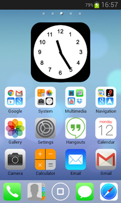 iOS7 – iPhone HD 5 in 1 Theme v1.0