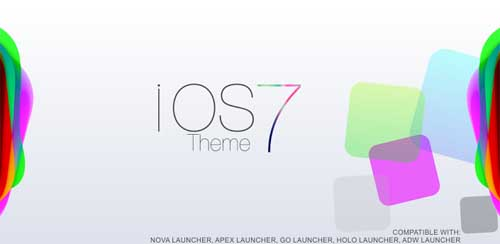 iOs 7 Theme HD Concept 8 in 1 v2.0
