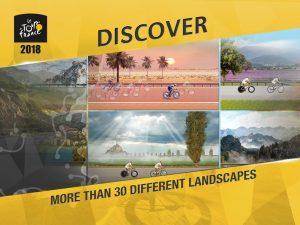 تصویر محیط Tour de France 2018 Official Game – Sports Manager v2.4.0