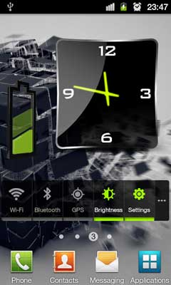 3D Design Battery Widget R5 v1.0