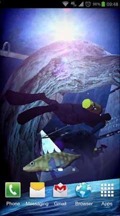 Atlantis 3D Pro Live Wallpaper v1.1