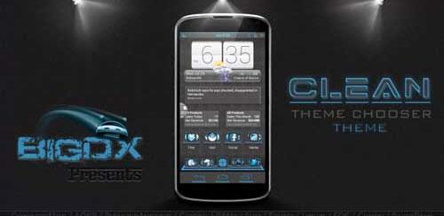 BigDX Clean Theme CM10 AOKP v1.8