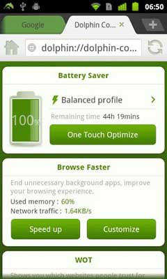 Dolphin Battery Saver v3.1