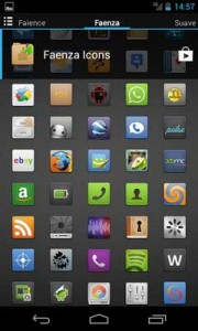Faenza Theme for Go Launcher v3