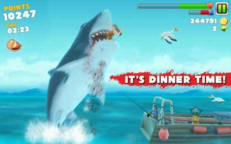 Hungry Shark Evolution v1.6.2 + data
