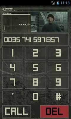Metal Gear Solid: Codec Dialer v3.2.0
