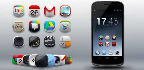 Modern Android Icon Pack v2.0