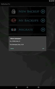My Backup Pro v4.5.2