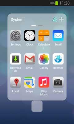 Next Launcher iOS7 iPhone v1.0