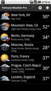 Palmary Weather Premium v1.27 6987