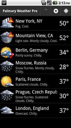 Palmary Weather Premium v1.27