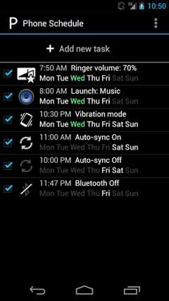 Phone Schedule v1.4.006