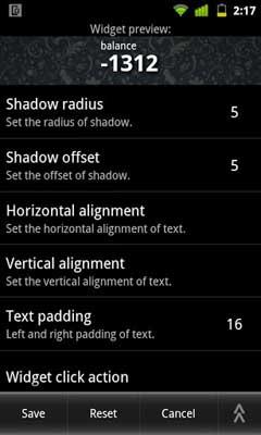Prepaid Balance Widgets Pro v1.3.3.15