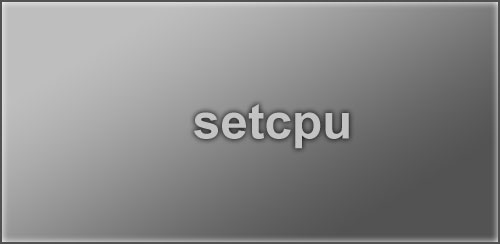 SetCPU for Root Users v3.1.1