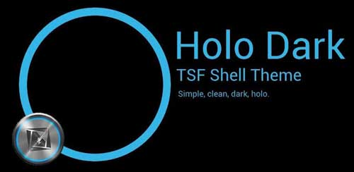 TSF Shell Theme Holo Dark v1.9.2