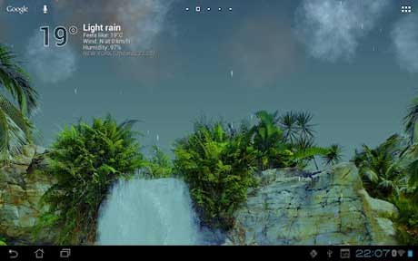 True Weather, Waterfalls v5.01
