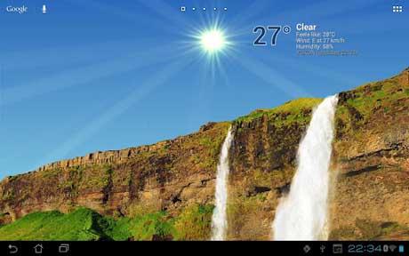 True Weather, Waterfalls v5.01