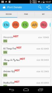 iFont (Expert of Fonts) v5.8.7
