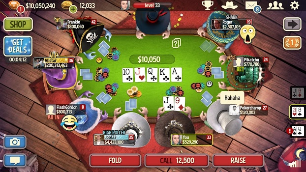 Governor of Poker 3 – Texas Holdem Poker Online v4.5.7
