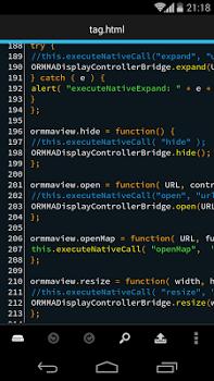 DroidEdit Pro (code editor) v1.23.7