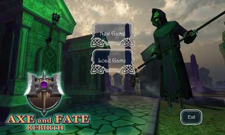 Axe and Fate (3D RPG) v1.05 + Data