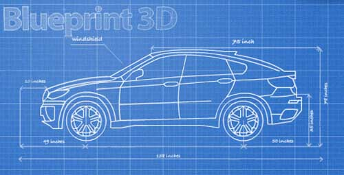 Blueprint 3D v1.0 + data