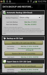 Car Maintenance Reminder Pro v4.0