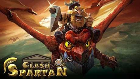 دانلود بازی اندروید بسیار زیبای clash of spartan
