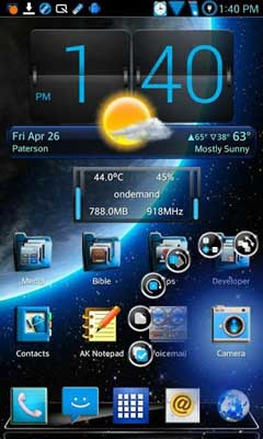 HD Optimus Pro Next Launcher v1.4