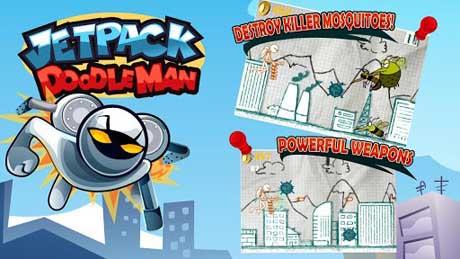 Jetpack Doodle Man v1.2
