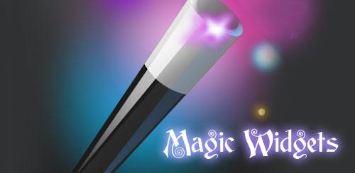 دانلود نرم افزار ویدجت Magic Widgets برای اندروید
