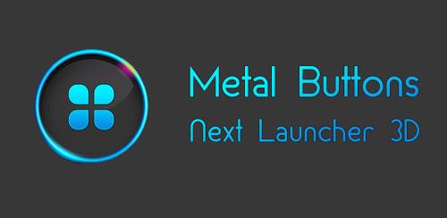 Metal-Buttons-Next-Launcher-3D