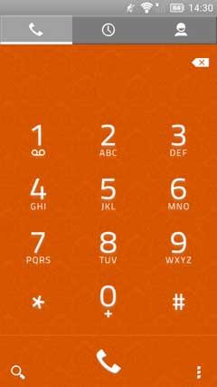 Orange White Theme CM10.1 AOKP v0.1