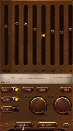 Poweramp Steampunk Skin v1.0