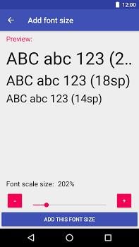 Big Font (change font size & display size) v3.03