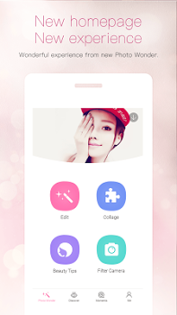 PhotoWonder: Pro Beauty Photo Editor & Collage Maker v3.9.8.0