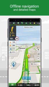 تصویر محیط Navitel Navigator GPS & Maps v11.8.608