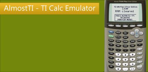 AlmostTI---TI-Calc-Emulator