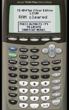 AlmostTI – TI Calc Emulator v2.2.6