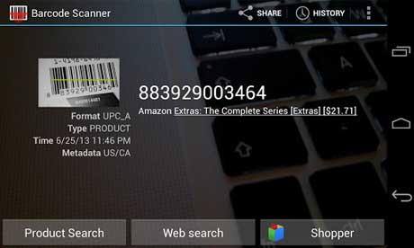 Barcode Scanner v4.7.8