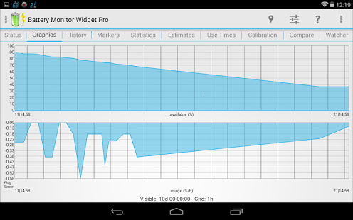 Battery Monitor Widget Pro v3.22